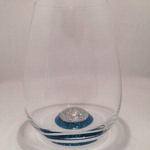 Trinkglas Diamant-Schungit